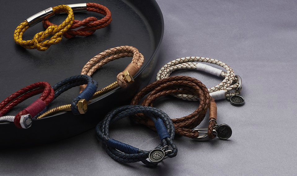 best singapore fashion brands CARRIE K LEATHER BRACELETS JEWELLERY