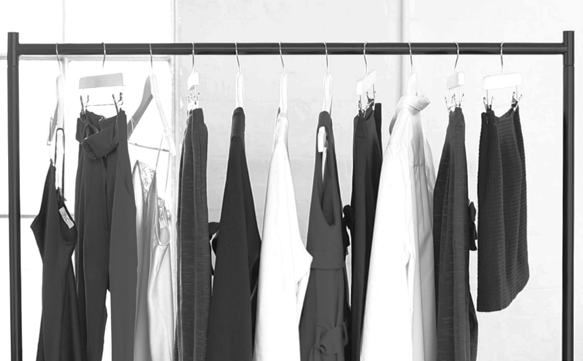 fashion capsule wardrobe RACK